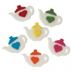 PME Sugar Decorations: Teapots (pack of 6)